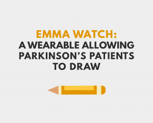 wearable, emma watch, emma, tremors, emma lawton, parkinsons, parkinson's, microsoft, technology, vibration, haiyan zhang